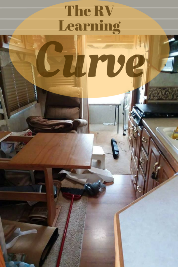 Learning curve, lessons from our RV Vacation
